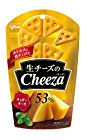 15時から【タイムセール】 江崎グリコ 生チーズのチーザ チェダーチーズ 40g×10個が激安特価!
