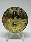 【実物だけど本物じゃない】ビットコイン BitCoin 仮想通貨 (ゴールド)が激安特価!