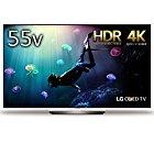 【今日だけ】LG 55V型 4K 有機EL テレビ HDR対応 Wi-Fi内蔵 外付けHDD録画対応(裏番組録画) OLED55B6Pが激安特価!