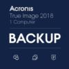 【7月1日まで】多機能・高性能バックアップソフト Acronis True Image 2018 Standard 1台版 送料不要2980円