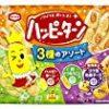 【タイムセール】亀田製菓 ハッピーターン3種のアソート(コク旨和風チーズ味)×12袋が激安特価!