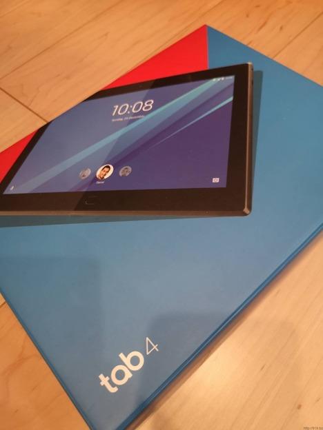 オリンピックを部屋で見るためにTVが観られるタブレット Lenovo TAB4【701LV】をゲット!