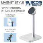 エレコム スマートフォン用マグネット式アルミスタンドが968円ナリ!